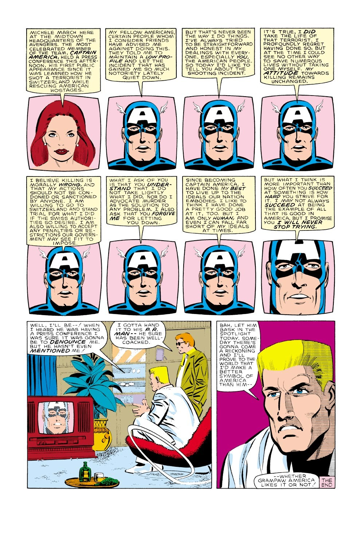 Captain America (1968) Issue #323 #251 - English 23