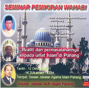 DVD Seminar Pemikiran Wahabi.