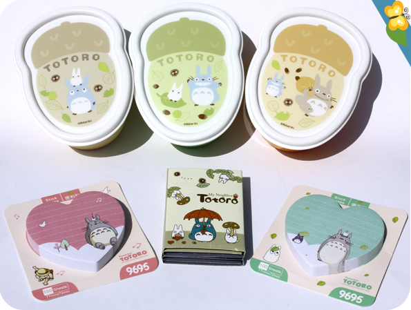 Bentos et Post-it Totoro - Le Club des Sottes