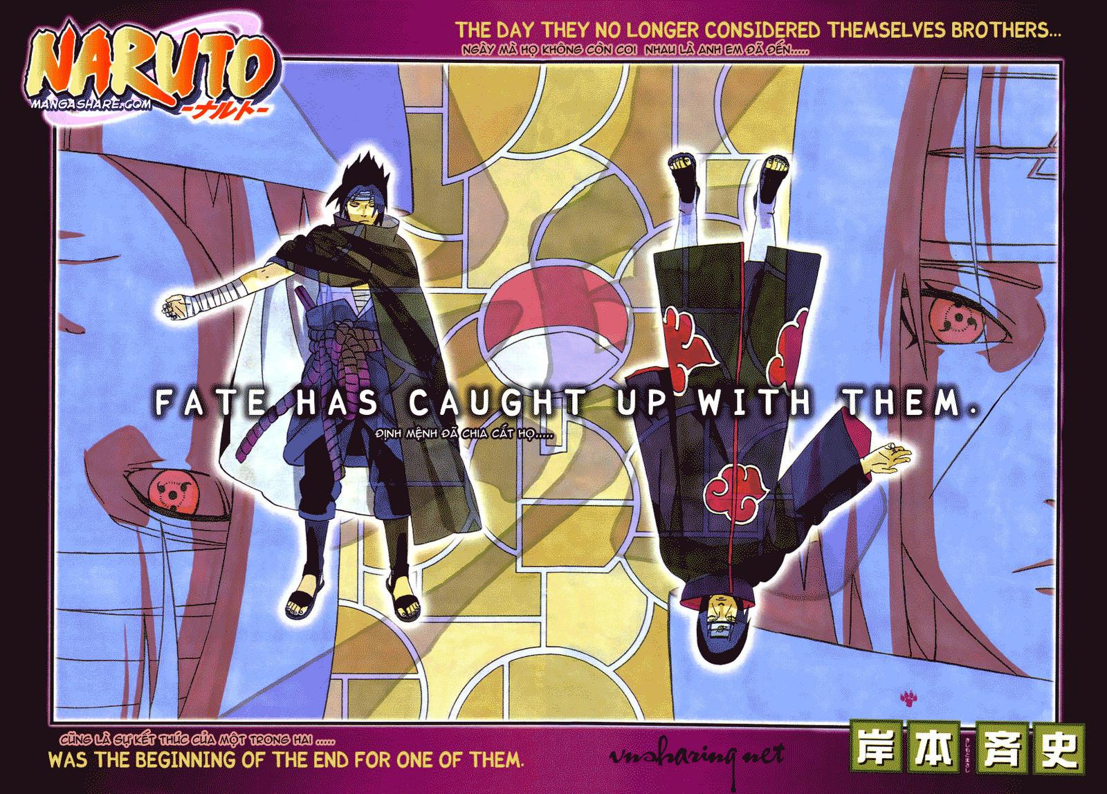 Naruto chap 384 Trang 1 - Mangak.info