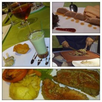 Cena Restaurante Gorbea, Hotel Gloria Palace San Agustin