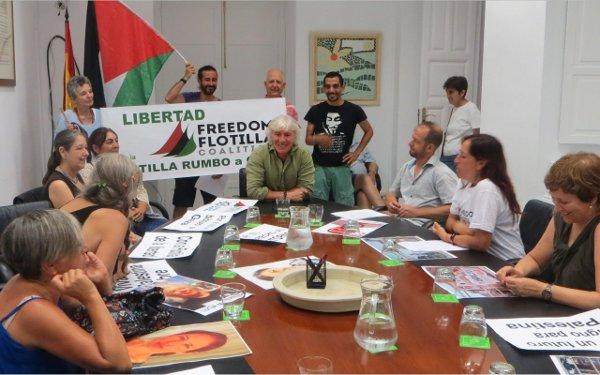 PETICIÓN AL DEFENSOR DEL PUEBLO ANDALUZ POR LIBERACIÓN FLOTILLA RUMBO A GAZA