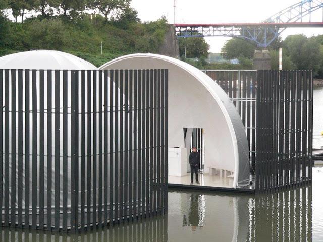 Nomanslanding Duisburg Ruhrgebiet Ruhrtrienale Installation Kunst Performance