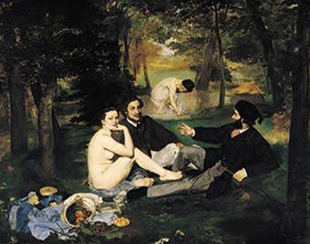 Édouard Manet - Le Déjeuner sur l'herbe.