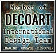 Proud to of been a DecoArt Design Team Member