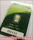 Produk Emas Keluaran Emas Kajang Trading