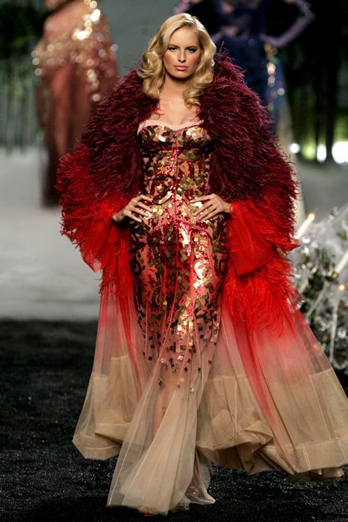 dior haute couture fall 2005