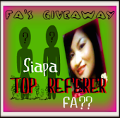 Siapa TOP REFERER FA? Giveaway