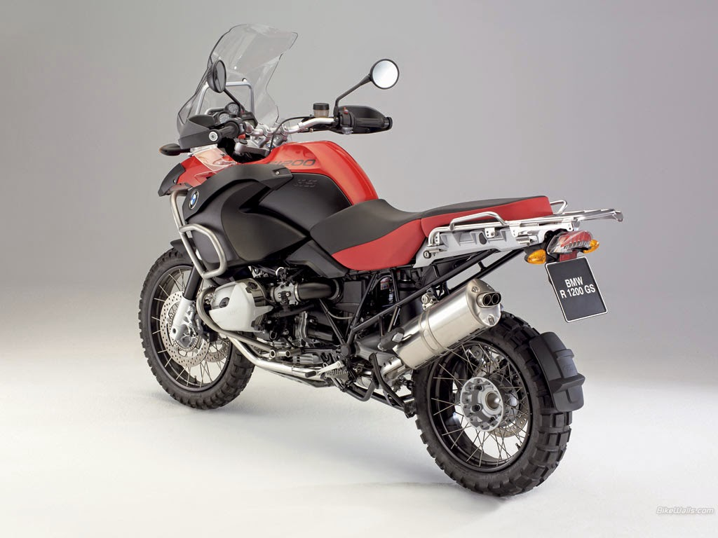 Galeri Foto BMW R1200GS Adventure Tahun 2008 HD Wallpaper