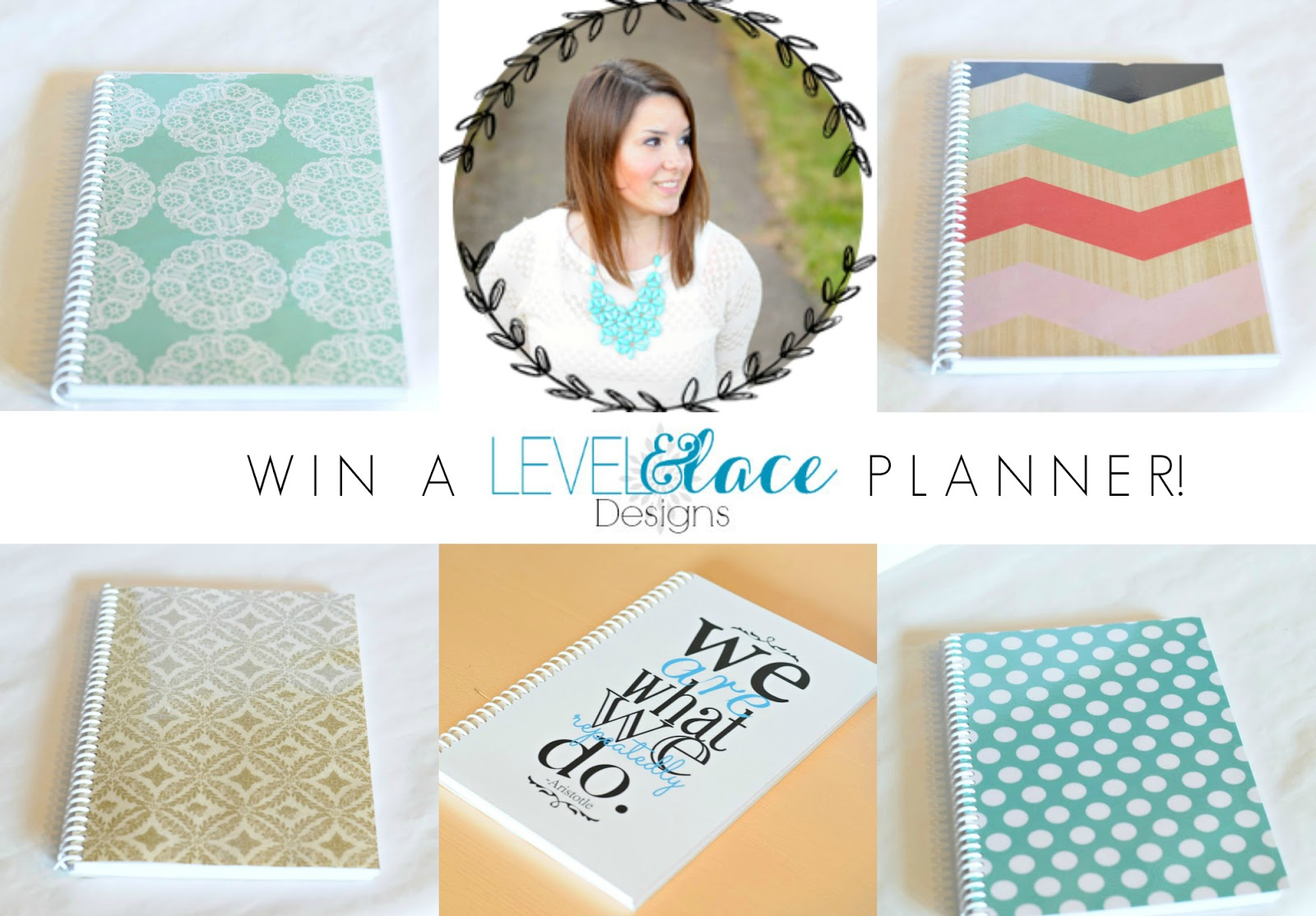 Win a Level and Lace Planner