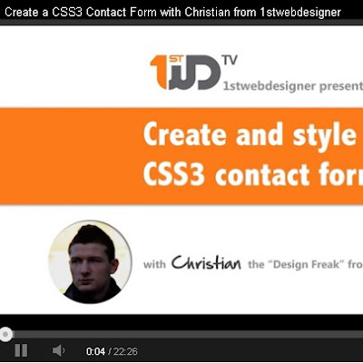Create a Contact Form in HTML5 and CSS3 for Dummies – Downloadable