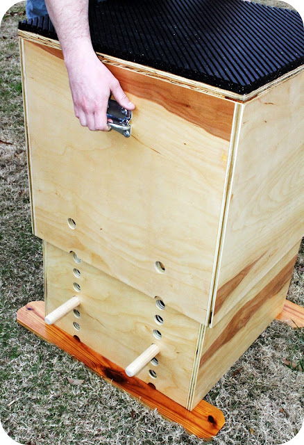 Trendytoolbox Adjustable Wooden Plyo Box