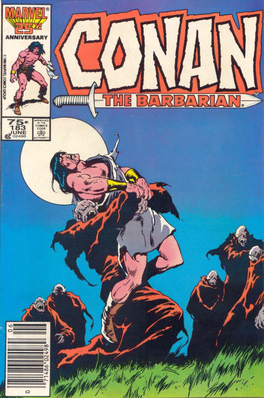 Conan the Barbarian (1970) Issue #183 #195 - English 1