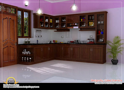 Kitchen Floor Plan Ideas on Home Interior Design Ideas   Kerala Home Design And Floor Plans