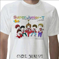 KAOS SUJU KAOS SUPER JUNIOR