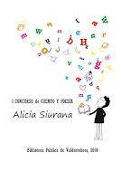 I Concurso Cuento y Poesía    Alicia Siurana
