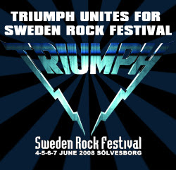 Triumph Live At Sweden Rock Festival CD y DVD