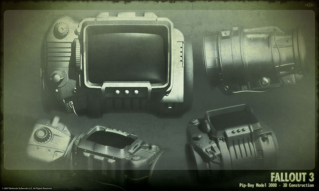 Gamification gamevertising fallout working pipboy 3000 How to make your own house in fallout 3