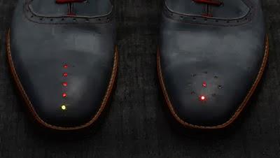 حقيقة وليست لحذاء السحري بنظام gps