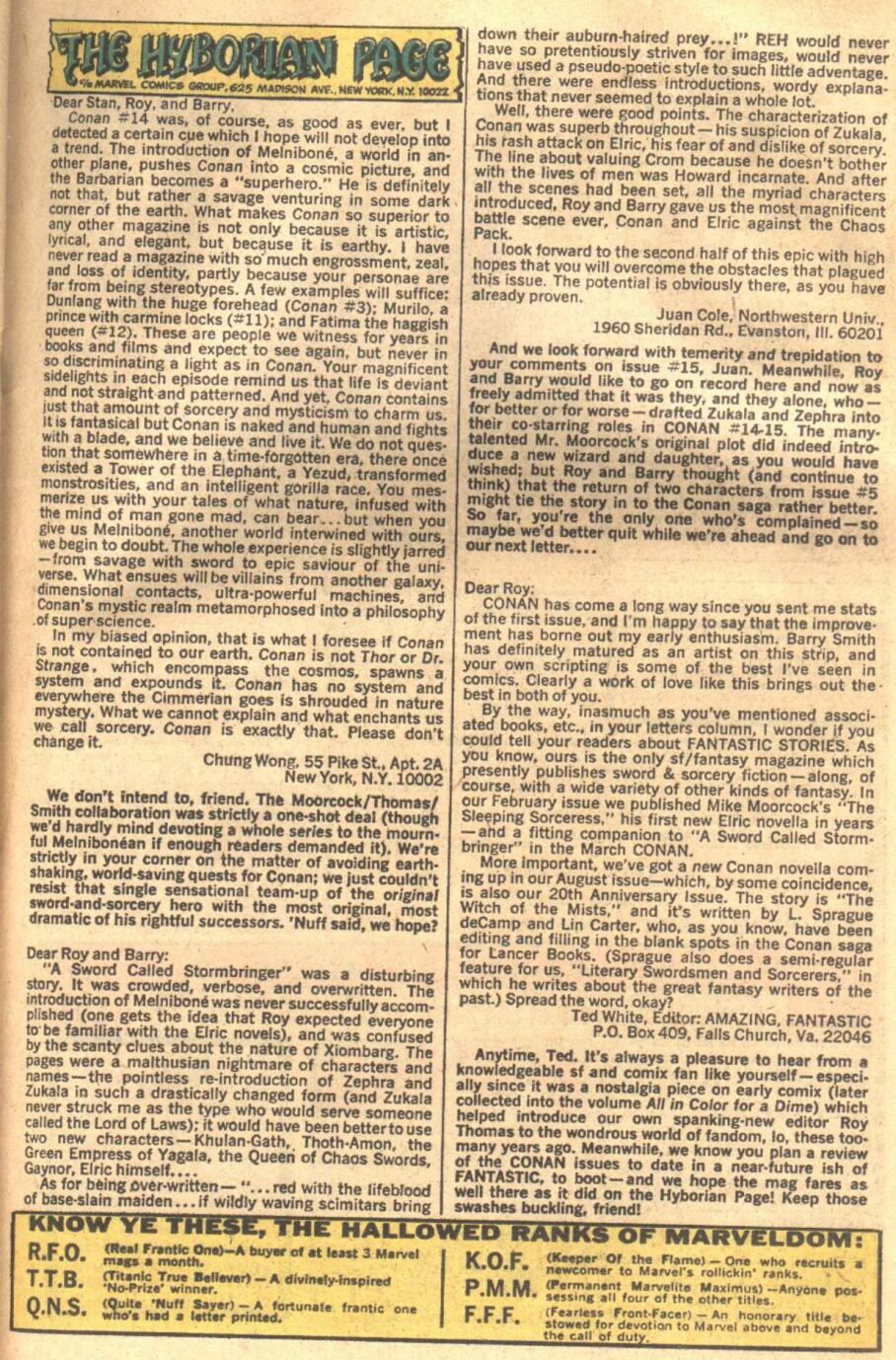 Conan the Barbarian (1970) Issue #18 #30 - English 18