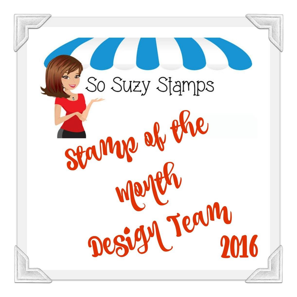So Suzy Stamp of the Month DT