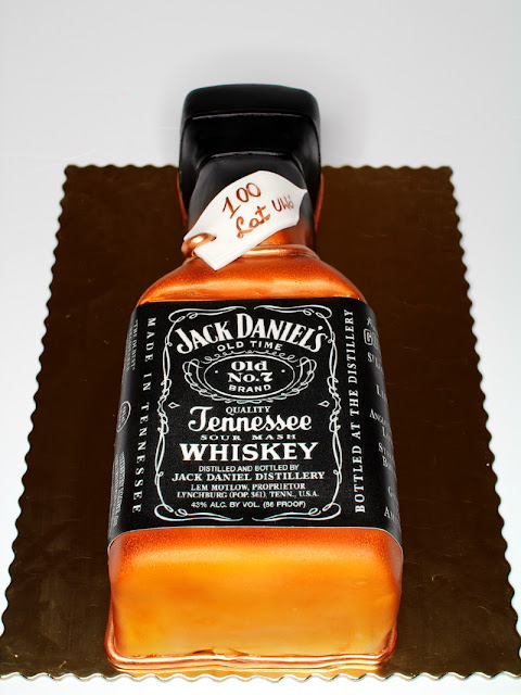 Jack Daniel's Whisky Birthday Cake London