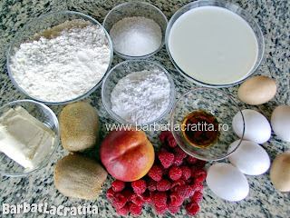 Tarta cu fructe ingrediente reteta
