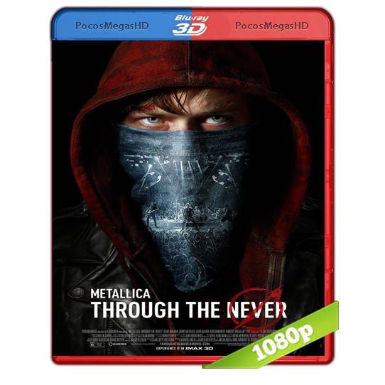 Metallica:Through The Never(2013)BrRip 1080p (3D OU) Inglés AC3+subs