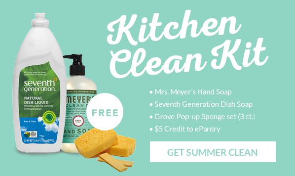 Get the Kitchen Clean Kit from ePantry :: OrganizingMadeFun.com