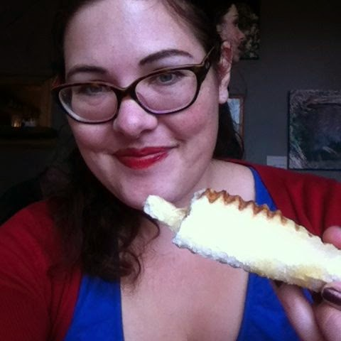 Cheese roll selfie. NOT EVEN SORRY.