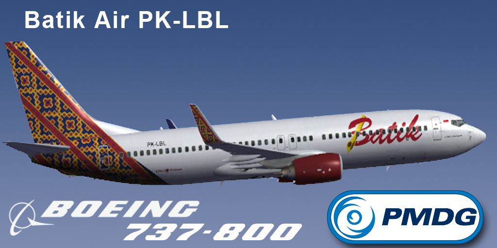 ... Batik Air PK-LBH/PK-LBL Livery FSX - Ariel Creation - Flight Simulator
