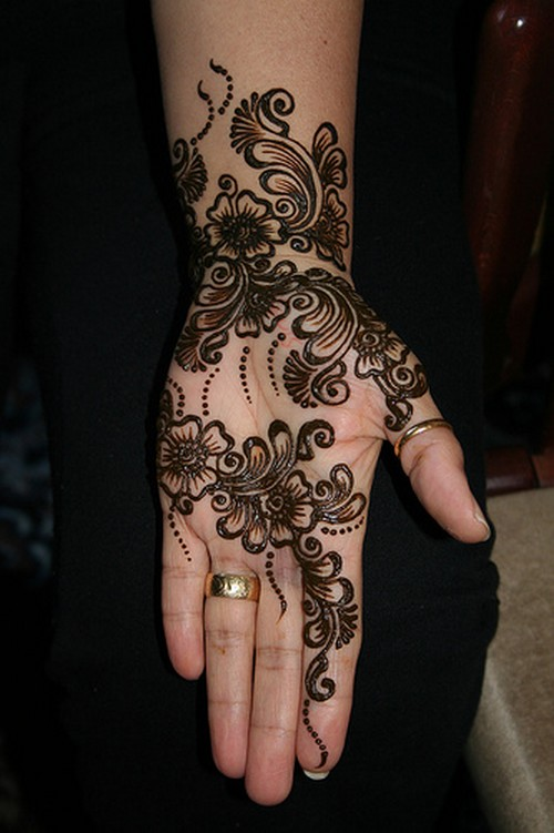 Mehndi Bridal Arabic Design : Bridal mehndi desings latest pakistani