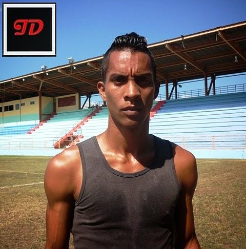 Jorge Figuera Pérez uno de los delanteros del fútbol santiaguero