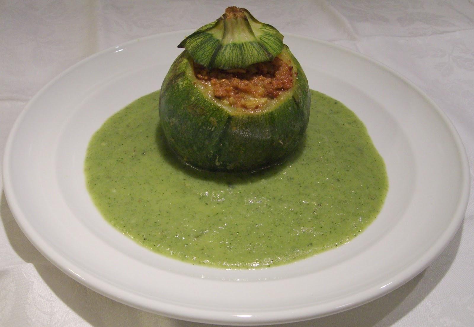 Cucinare assaporare bere e dintorni zucchine tonde ripiene for Cucinare zucchine tonde