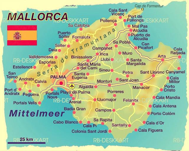 Palma De Mallorca, Ada Tatili, Mayorka Adası, İspanya Adası