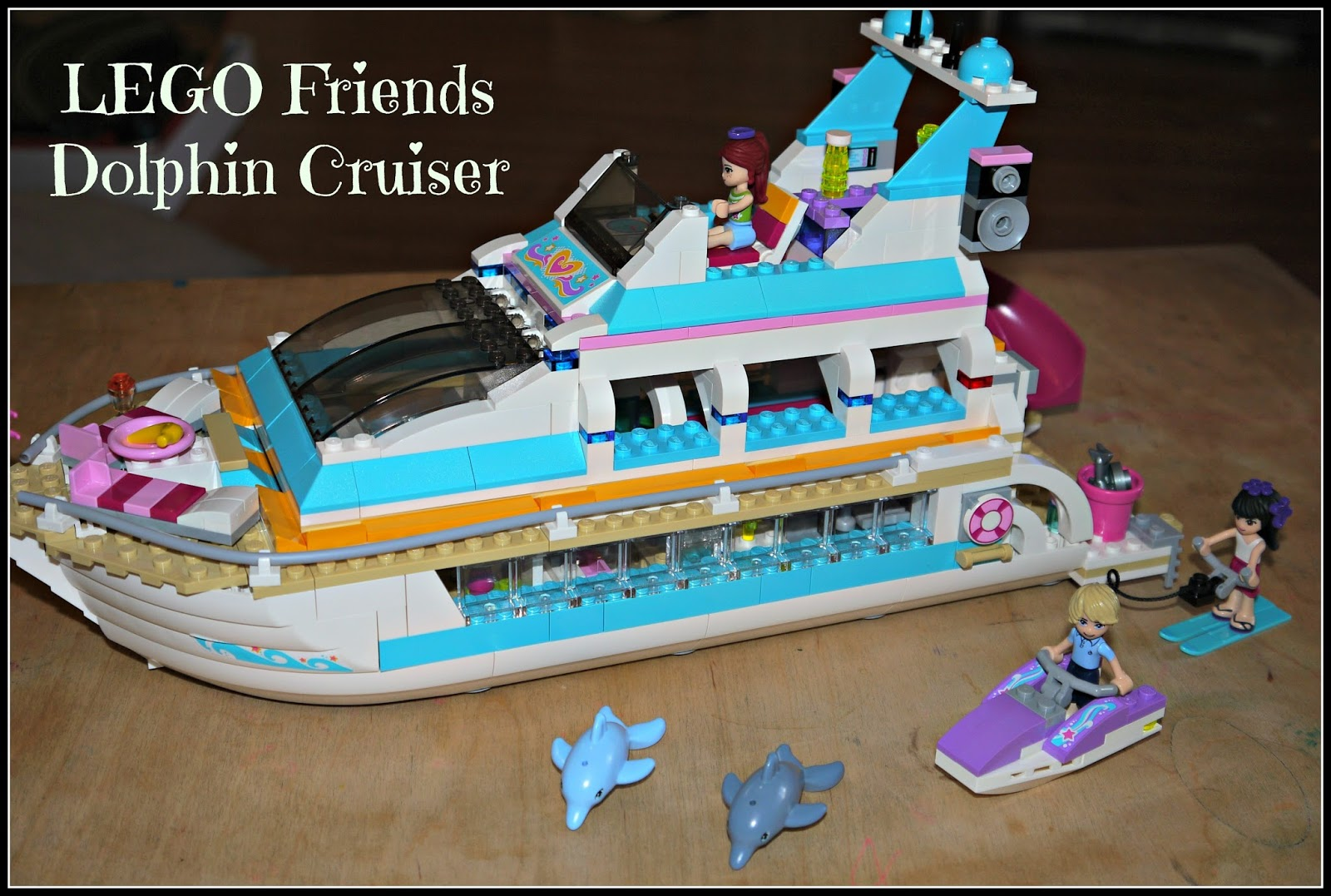 Inside The Wendy House Lego Friends Dolphin Cruiser Review