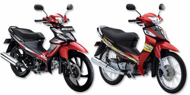 Suzuki Smash dan Smash Titan 115cc title=