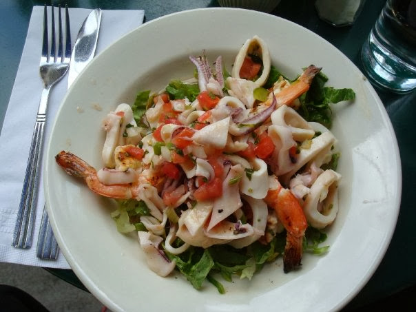 shrimp squid salad cafe colonial nyc gone shrimp salad mole