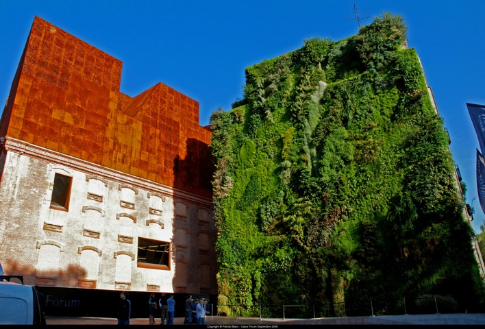 Archi love giardini verticali living walls - Giardino verticale madrid ...