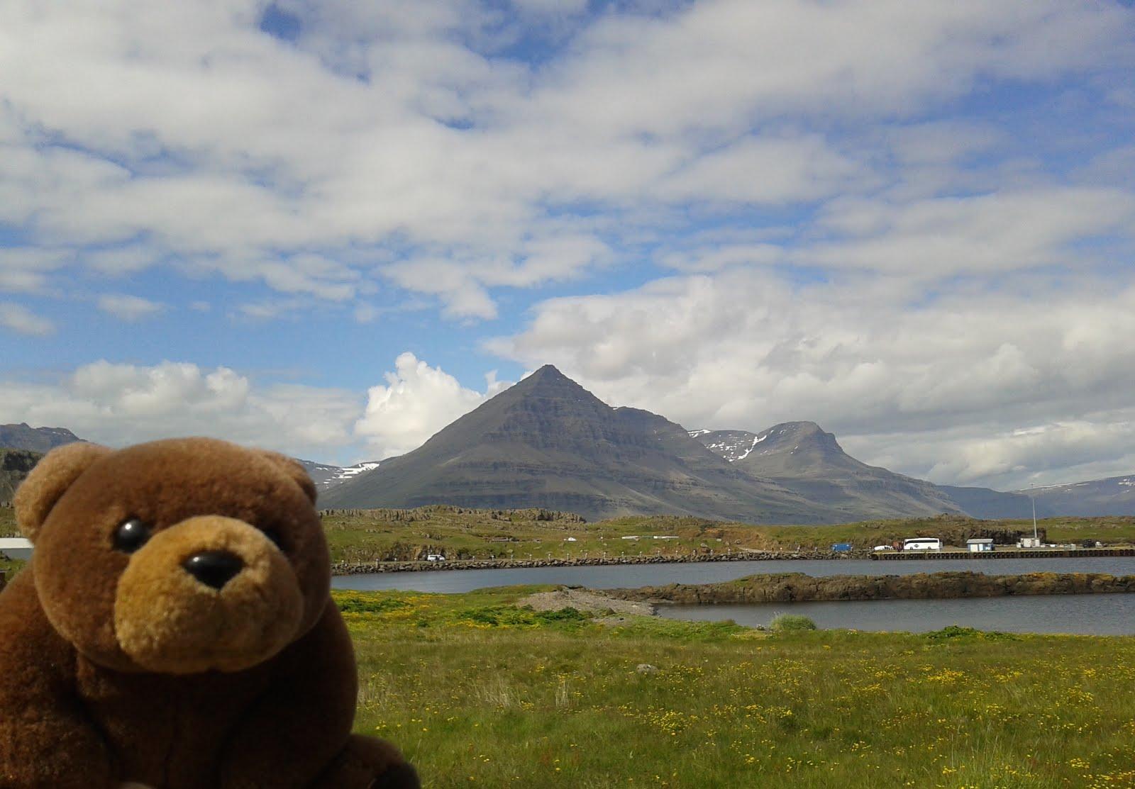 Teddy Bear in Djúpivogur, Iceland