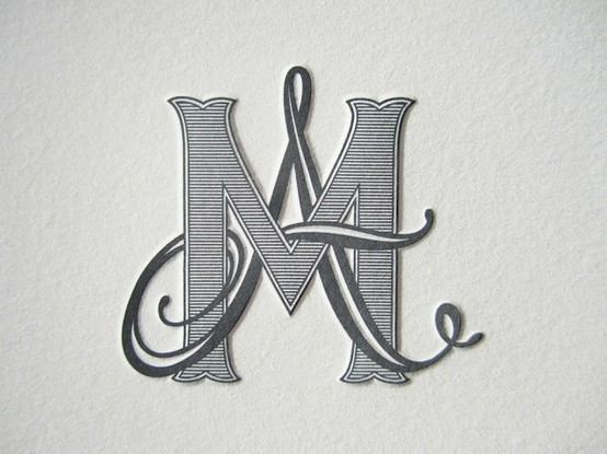 Monogram Four Letters Initials