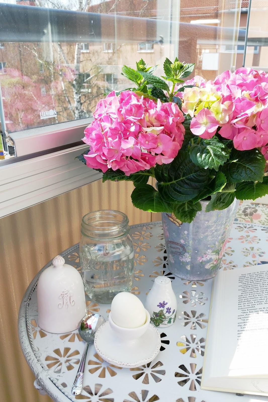 balcony, cosy, egg, easter, book