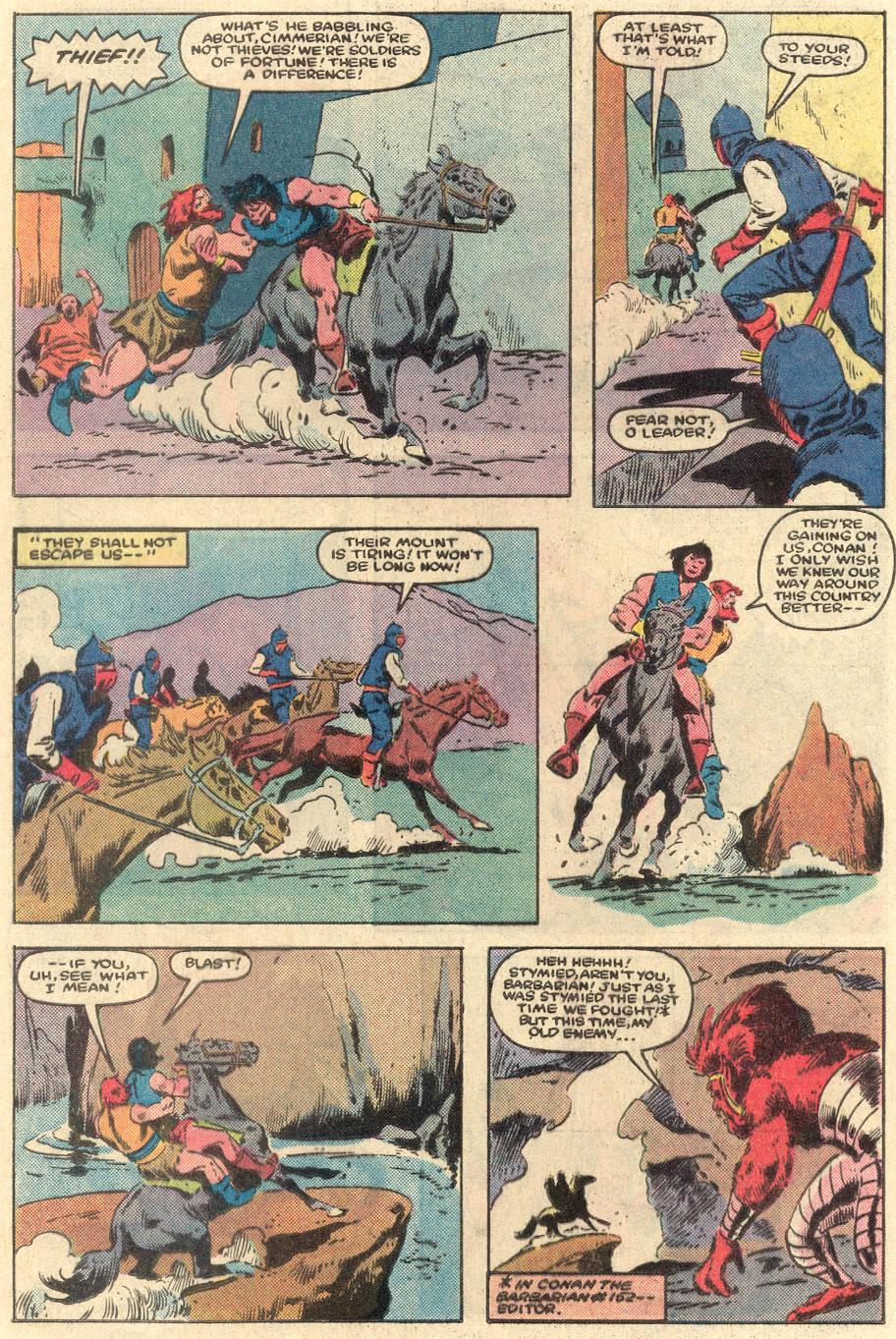 Conan the Barbarian (1970) Issue #162 #174 - English 9