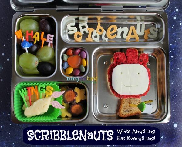 Scribblenauts bento lunch!