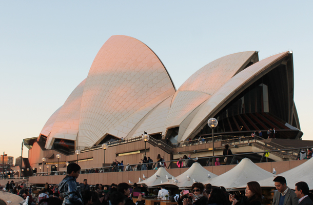 Sweet Monday, Sydney Opera House