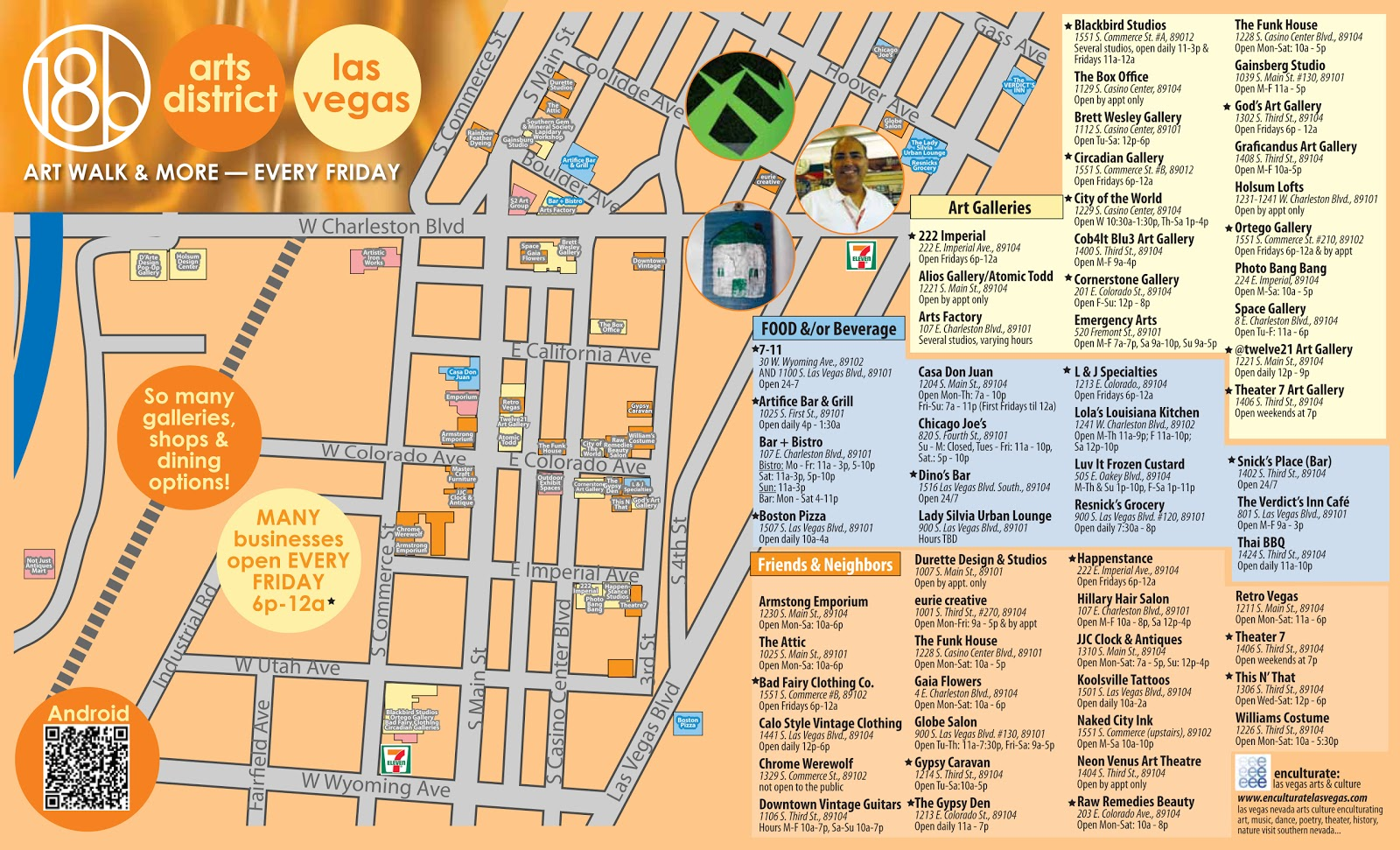 Worksheet. Las Vegas Arts and Culture New arts district map ready just in