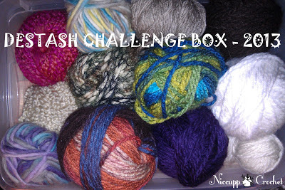 My original idea of a destash challenge box