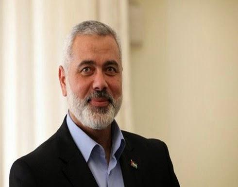 تصريح صحفي لإسماعيل هنية حول غزة