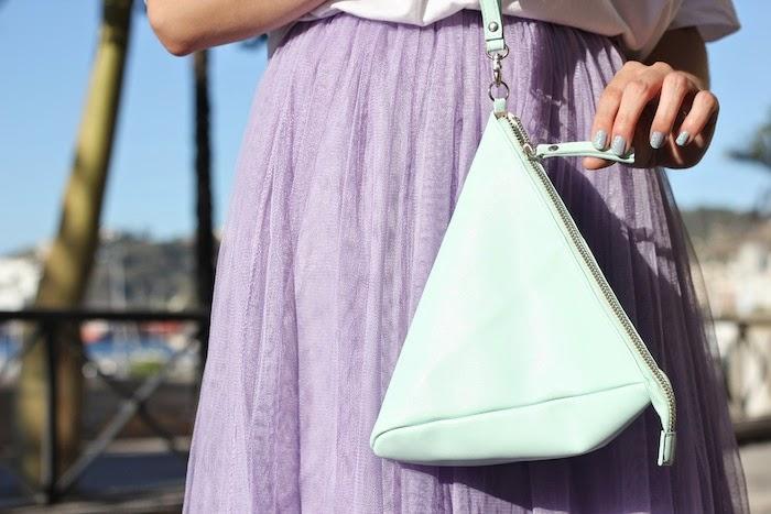 frontrowshop_bag_bolso_mint_trinagle_triángulo_menta_falda_tul_lila_purple_skirt_angicupcakes03