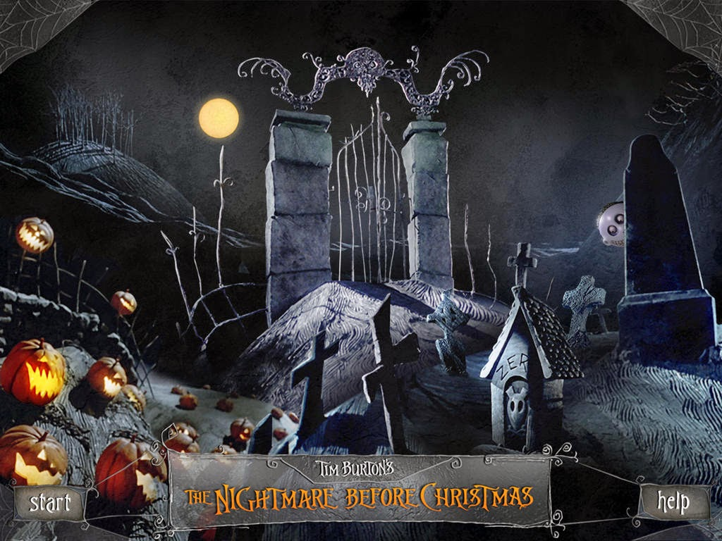 Pier-Luc Simard: the nightmare before christmas; halloween town gate ... Nightmare Before Christmas Pumpkin Patch Drawing